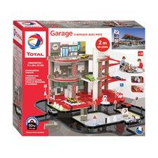 Plastikinis vaikiškas garažas Mochtoys