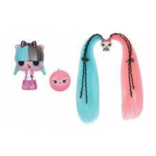 Žaisminga lėlytė su augintiniu Pop Pop Hair Surprise 3in1  Roll