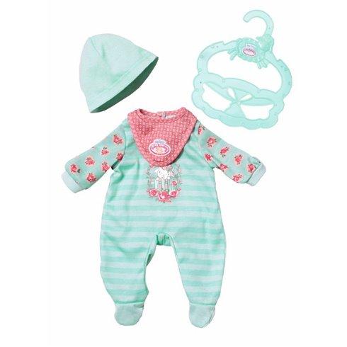 Žalios spalvos drabužėliai Baby Annabell 36 cm