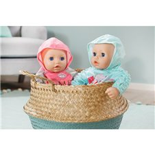 Rožiniai drabužėliai lėlytei Baby Annabell