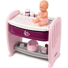 Vystymo staliukas lėlei Smoby Baby Nurse 2in1