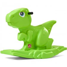 Žalias supamas dinozauras Step2