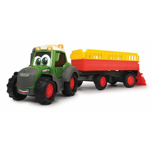 Žaislinis traktorius su priekaba DICKIE