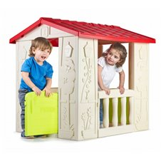 Domek Ogrodowy Happy House Feber + bramka gratis!