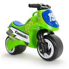 Žalias balansinis motociklas Kawasaki Injusa