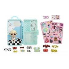Stilingų drabužėlių lagaminas su lėle MGA L.O.L. As if Baby