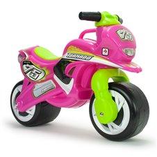 Rožinis balansinis motociklas Tundra Tornado Injusa