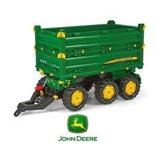 Rolly Toys Przyczepa Wywrotka Rolly Multi John Deere 3 osiowa