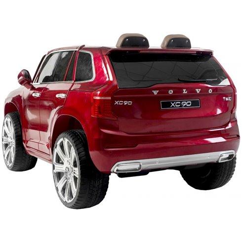 Elektromobilis RMZ VOLVO XC90 Raudonas
