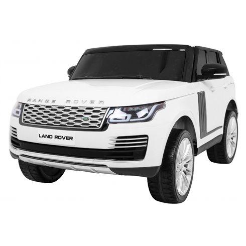 Elektromobilis RMZ Range Rover HSE Baltas