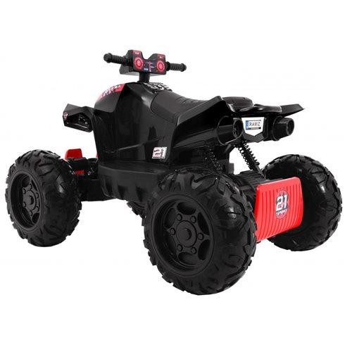 Elektromobilis keturratis RMZ Sport 4x4 Juodas