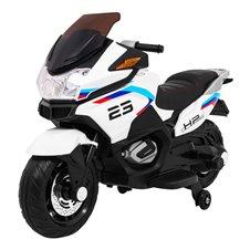 Elektromobilis motociklas RMZ Sport Tourism Baltas