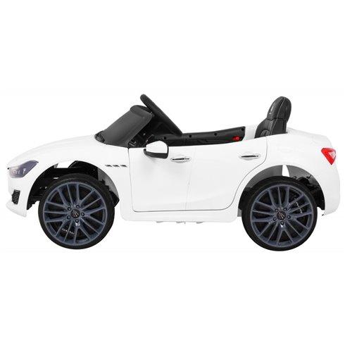 Elektromobilis RMZ Maserati Ghibli Baltas