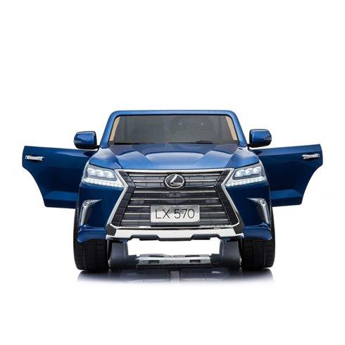 Elektromobilis RMZ Lexus LX570 Mėlynas