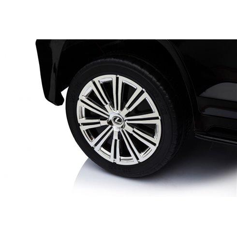 Elektromobilis RMZ Lexus LX570 Juodas