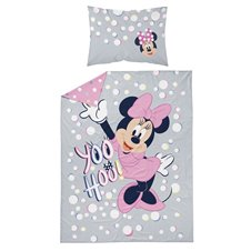 Patalynės komplektas Minnie Mouse Yoo Hoo! 2 dalių