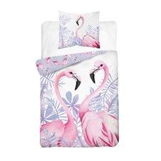 Patalynės komplektas Flamingai140x200 cm 2 dalių