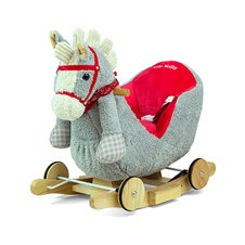Supamasis arkliukas M&M Polly Gray-Red Horse