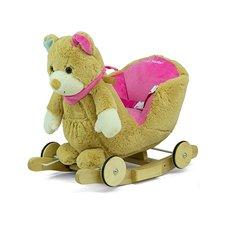 Supamasis arkliukas M&M Polly Pink Bear