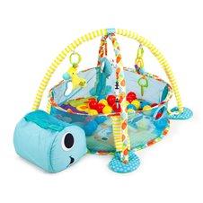 Lavinamasis kilimėlis Eko Žaislas Vėžliukas Žydras