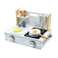Medinė virtuvėlė Eko Žaislas Compact