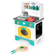Medinė virtuvėlė Eko Žaislas Mini Kitchen