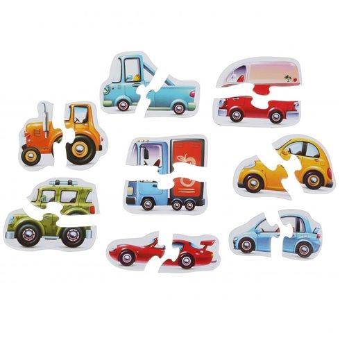 Dėlionė Cubika Automobiliai
