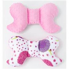 Antistresinė pagalvėlė MAMO-TATO Minky Pienės rožinė / rožinė