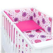 Apsauga lovytei MAMO-TATO Pienės rožinė / rožinė