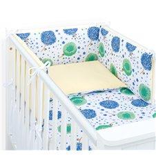 Apsauga lovytei MAMO-TATO Pienės mėlyna / geltona