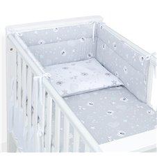 Apsauga lovytei MAMO-TATO Meškiukai pilka / pilka