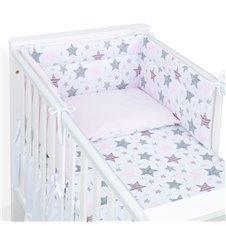 Apsauga lovytei MAMO-TATO Starmix rožinė / rožinė