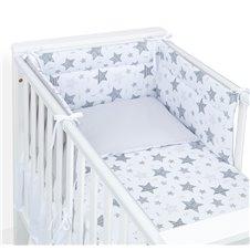 Apsauga lovytei MAMO-TATO Starmix pilka / pilka
