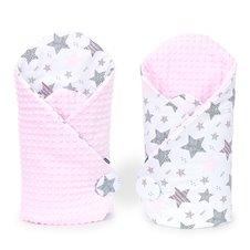 Vokelis MAMO-TATO Minky Starmix rožinė / rožinė