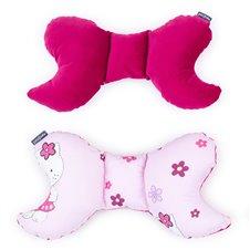 Antistresinė pagalvėlė MAMO-TATO VELVET Kačiukai rožiniai / vyšninė