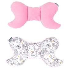 Antistresinė pagalvėlė MAMO-TATO VELVET Hippo / rožinė