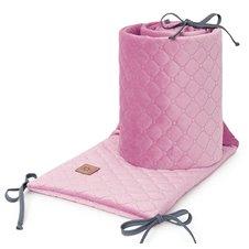 Apsauga lovytei MAMO-TATO Velvet PIK Pelenų rožė