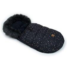 Žieminis vokelis MAMO-TATO Žvaigždynas / juodas