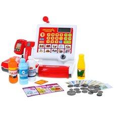Žaislinis kasos aparatas su priedais