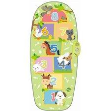 Žalias žaidimų kilimėlis Gyvūnų klasės