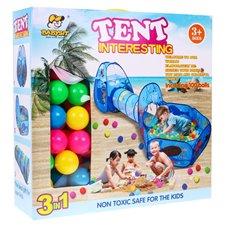 Žaidimų aikštelė RMZ 3in1 su kamuoliukais