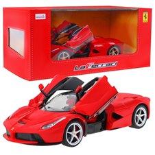Valdomas automobilis RASTAR Ferrari LaFerrari USB Raudonas 1:14