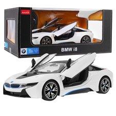 Valdomas automobilis RASTAR BMW i8 Baltas 1:14