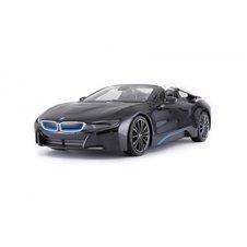 Valdomas automobilis RASTAR BMW I8 Roadster Juodas 1:12