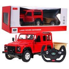 Valdomas automobilis RASTAR Land Rover Defender Raudonas 1:14