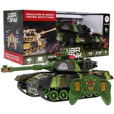 Valdomas tankas RMZ 2.4GHz Žalias