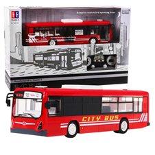 Valdomas autobusas RMZ Double E 2.4G 1:20 Raudonas