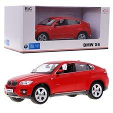 Valdomas automobilis RASTAR BMW X6 Raudonas 1:14