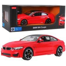 Valdomas automobilis RASTAR BMW M4 Coupe Raudonas 1:14