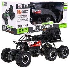 Auto 1:14 Crawler 6x6 R/C 2.4G Czerwone